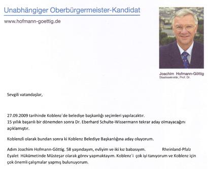 jo hofmann gttig mit unterschrift trkisch - Bewerbung Auf Turkisch
