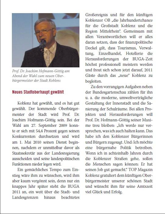 Top-Magazin Home 30.12.2009