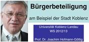 blanko WS 2012-2013 Bürgerbeteiligung
