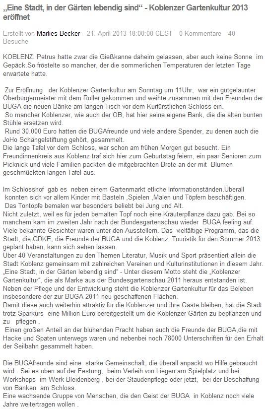 loka online 21.4.2013 Garteenkultur 2013