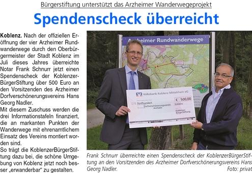 ba 20.9.2014, S. 23 Wanderwegscheck