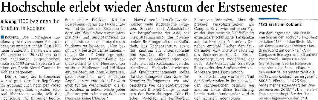 rz 30.9.2014, S. 11 Erstsemesterbegrüßung OB Hofmann-Göttig7f710f0722188acb
