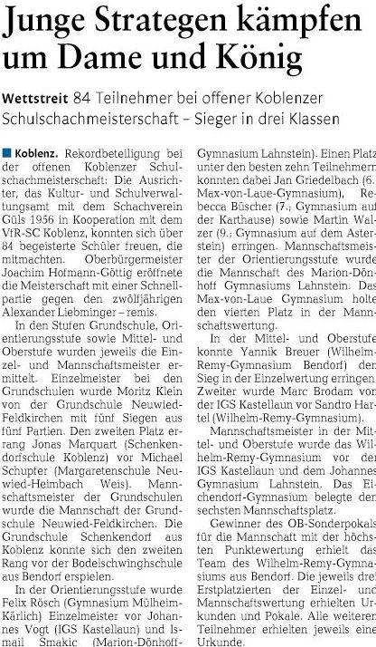 rz 21.11.2014, S. 22 Schulschach-2-66f57684bf6e2ce4