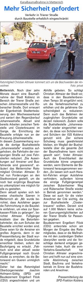 ba 19.1.2017, S. 45 Metternich