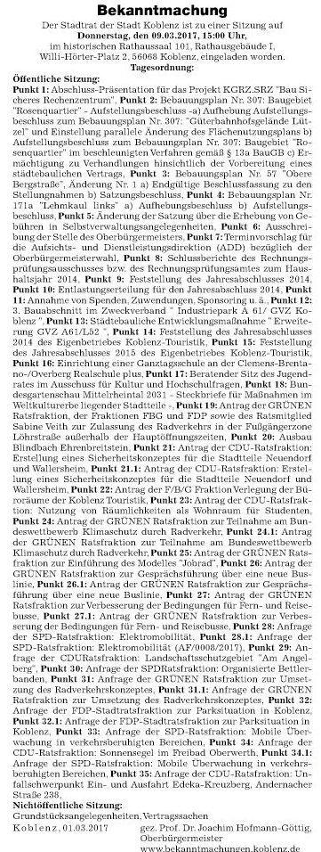 rz 4.3.2017, S. 23 Tagesordnung Stadtrat2017_03_04_4068598